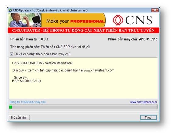 CNS-updater