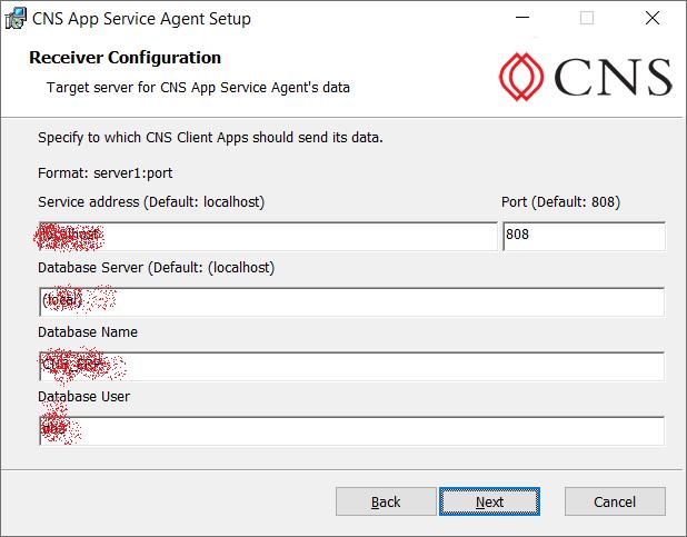 Bộ cài CNS.Server.Service.Setup