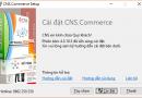 Cài đặt phần mềm Quản lý bán hàng CNS