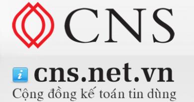 Phần mềm kế toán CNS.NET - Cộng đồng kế toán tin dùng