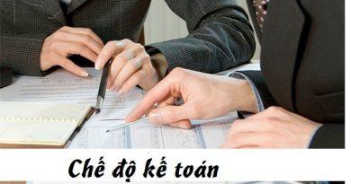 Chế độ kế toán doanh nghiệp
